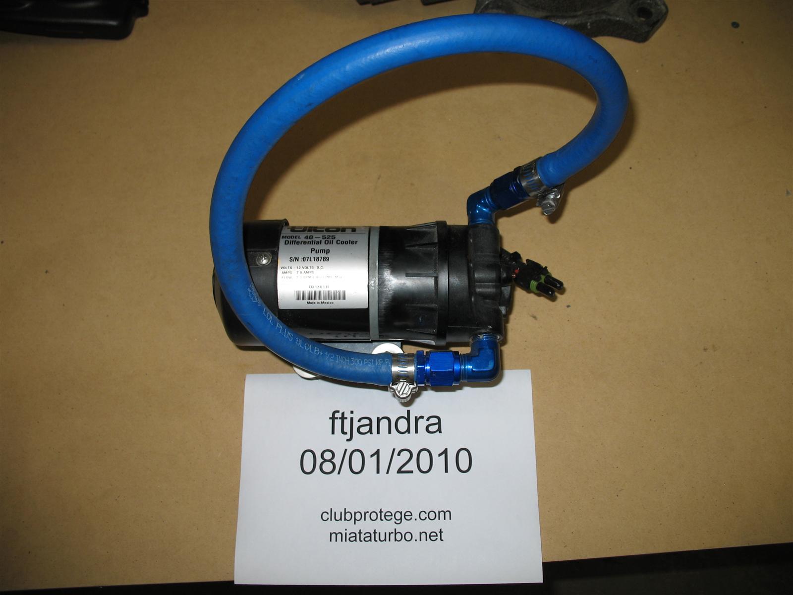 Tilton Racing 40-524 Oil/Water Cooler Pump Replacement Parts ...