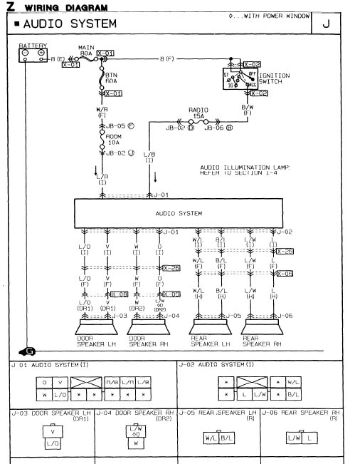 radio_wiring miata radio wiring solidfonts readingrat net 1996 mazda 626 stereo wiring diagram at mifinder.co